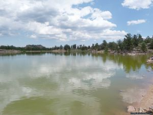 camp-out-colorado-bellaire-lake-lake-calm