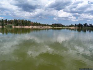 camp-out-colorado-bellaire-lake-lake-view