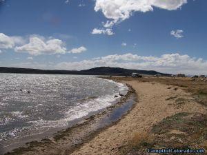 camp-out-colorado-eleven-mile-state-park-lake-shore