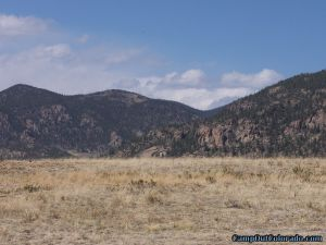 camp-out-colorado-eleven-mile-state-park-mountian-view