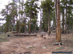 camp-out-colorado-kenosha-pass-campground-rough-driveway