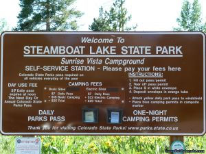 camp-out-colorado-steamboat-lake-campground-sign