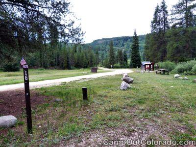 Campground-pull-through-campsite 1